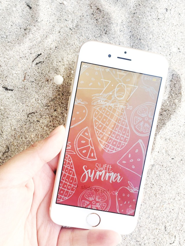 Summer_FruitsWallpaper_iPhone2