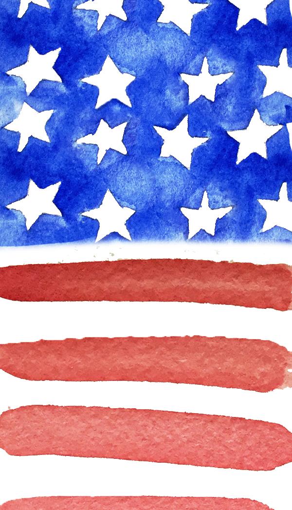 USAWatercolorFlag