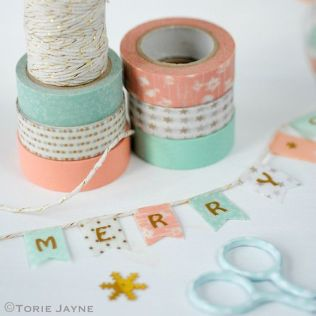 http://toriejayne.com/tutorial/washi-tape-bunting-tags-tutorial