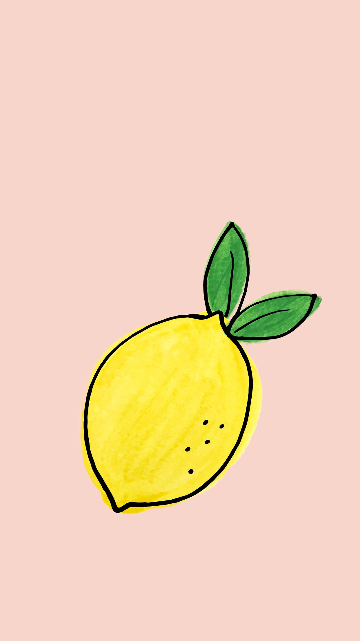 Styldbygrace_LemonSummer_PinkLemon_Wallpaper_Mobile