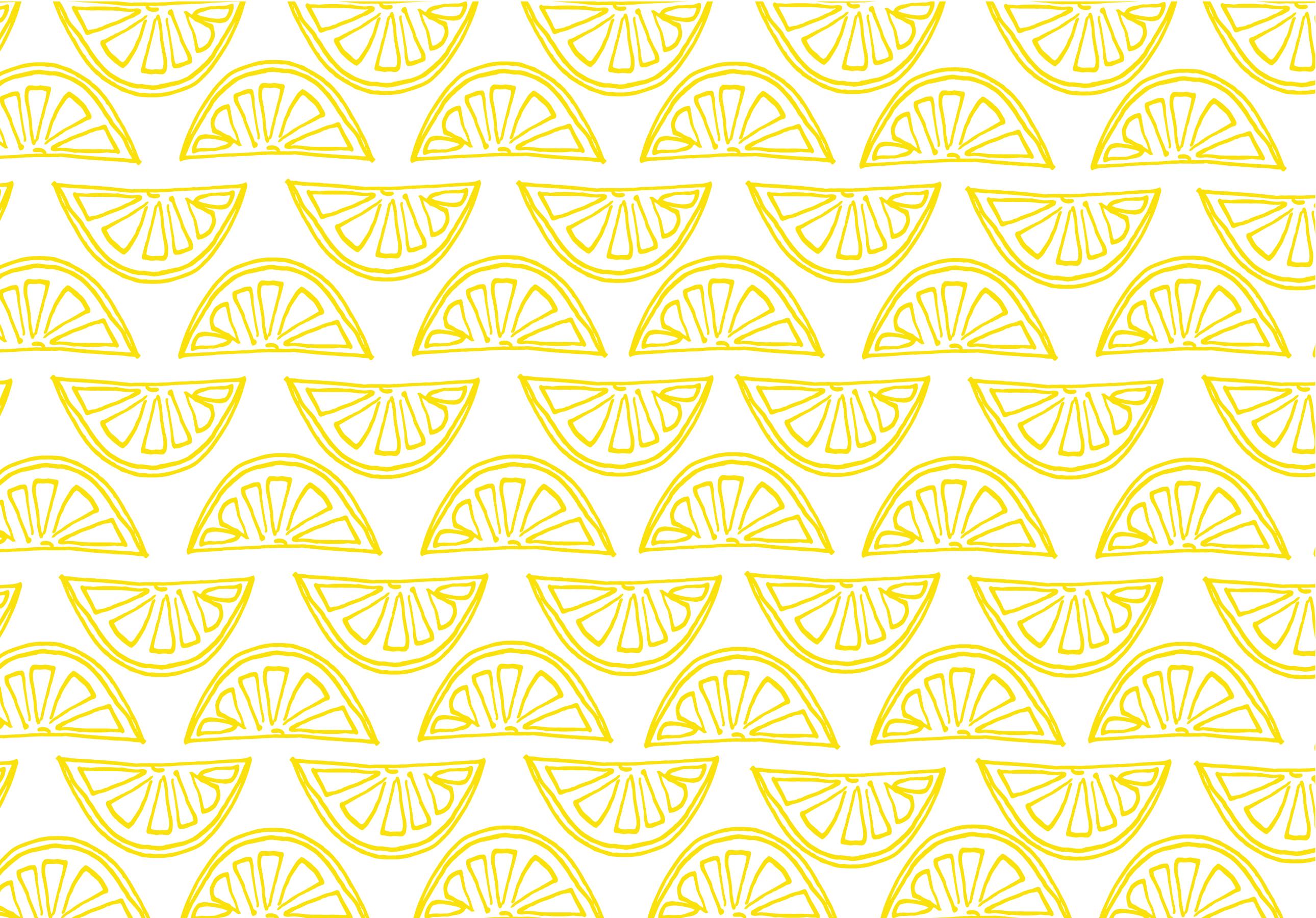 Styldbygrace_LemonSummer_YellowWedges_Wallpaper_Desktop