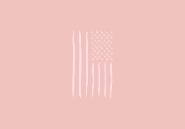 Styldbygrace_4thofJuly2017_PinkFlag_Wallpaper_Desktop