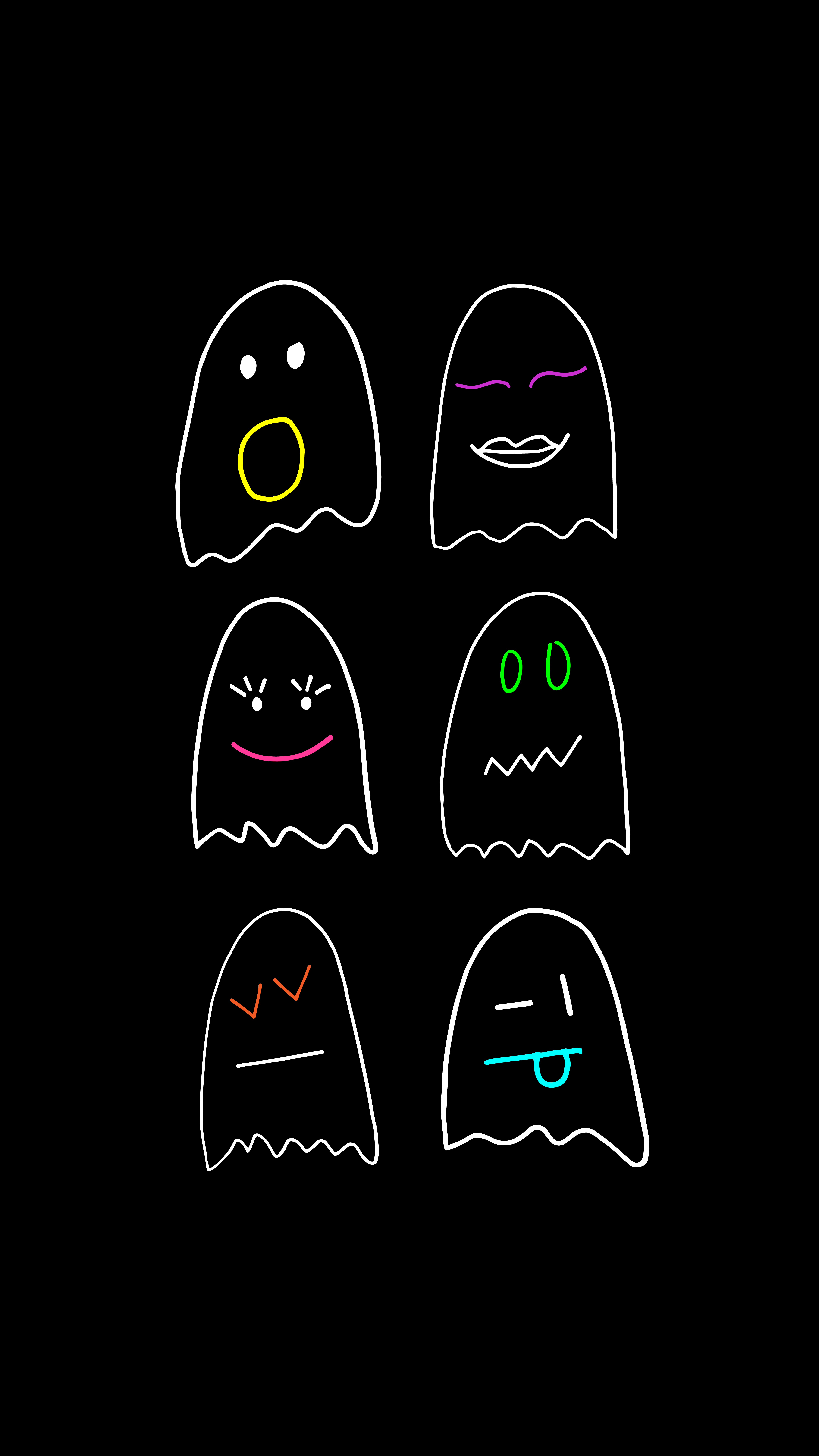 StyldbyGrace_October2018_Wallpapers_FunnyGhosts_Black